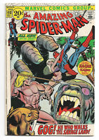 Amazing Spider-Man # 103 Marvel Comics 1971 Gil Kane art / 1st Appearance of Gog