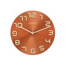 Metal Round Modern Wall Clocks