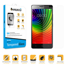 Real Tempered Glass Screen Protector Film Anukku For Lenovo A6000
