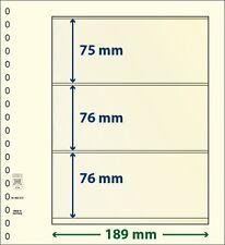 Lindner blank T-foglie con tre Borse im Da 10 Pack Art no. 802 310