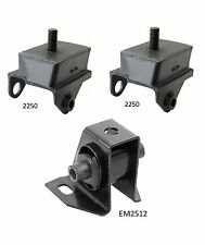 3 PCS FRONT MOTOR & TRANS MOUNT For 1969-1973 PLYMOUTH BARRACUDA 5.6L HD Pkg