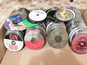 Lot of 100 music cds - Pop, rock, indie, demo, DJ - Discs only - FREE SHIPPING!