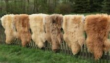 Lambskin Sheepskin Coburg Fox Sheep Runner Seat Base Deco Carpet