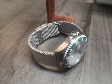 316L Steel No Time to Die Style Bond Milanese Mesh Watch Strap 20mm 22mm 18mm