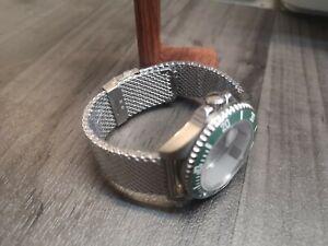 18mm 20mm 22mm for Omega Seamaster Stainless Steel Bracelet Bond Mesh