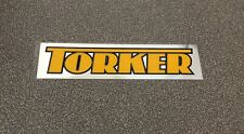 Old School Bmx Torker Handle Bar Sticker Decal Accurate Reproduction