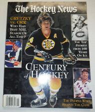 The Hockey News Magazine Century Of Hockey Gretzky Vs Orr 2000 121314R