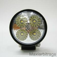 12v 24v E4 LED Spot Round Work Lamp Flood Beam Trailer Off Road Boat Car Van New