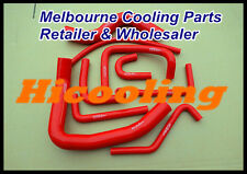 silicone radiator heater hose for Pajero NH NJ V6 3.0 6G72 1991-1996 RED