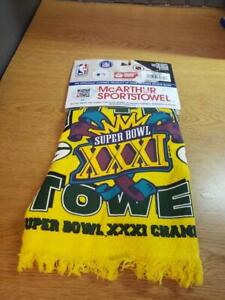 NEW Super Bowl XXXI Green Bay Packer Title GOLF Towel Official Licensed 1997