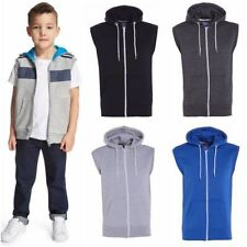 Unbranded Hooded Sleeveless Hoodies & Sweats for Men