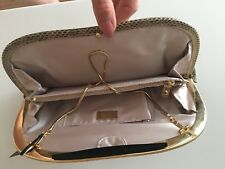 Reiss Nova Luxurious Snakeskin Clutch Bag in Beige (cream) -