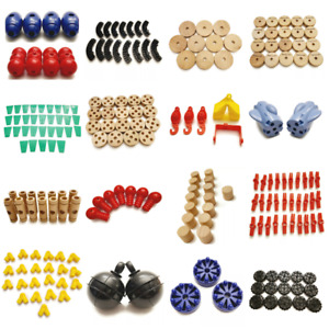 7+ LB Tinker Toy Lot 220 Parts ORGANIZED Wheel Pulley Flag Spool Connector Robot