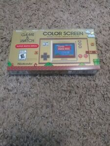 Super Mario Bros Game & Watch Nintendo 35th Anniversary Game and Watch Brand New