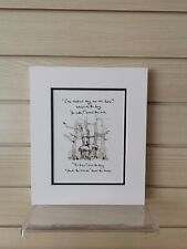 Charlie Mackesy book extract mounted. The boy, the mole,the fox and the horse G