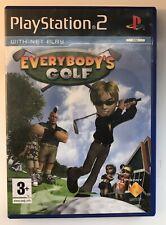 Jedermanns Golf ps2 Playstation 2 Videospiel. tolles Spiel. Fun für alle.