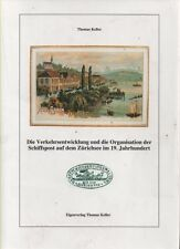 Philatelic Literature: Thomas Keller Lake Zurich Sea Post 1900's