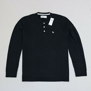 Abercrombie & Fitch Men long sleeves Henley T- shirt size XL new with tags