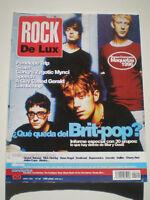 ROCK DE LUX Nº 129 Abr. 1996 Penelope Trip BRIT POP Blur SPEECH Lambchop RDL
