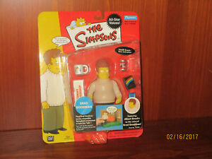 The Simpsons Brad Goodman World of Springfield Interactive Action Figure - New