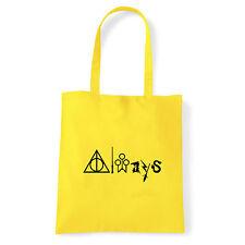 Art T-shirt, Borsa Always Harry Potter, Giallo Shopper, Mare