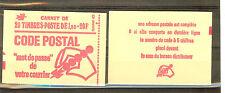 CARNET TYPE MARIANNE DE BEQUET 1 FRANC DATE 17.1.77  N° 1892 C3 **  COTE €23