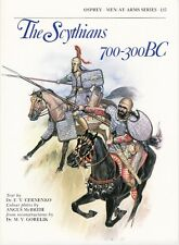 The Scythians 700-300 Bc - Osprey Men-At-Arms History Reference Book No.137
