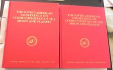 COSMOCHEMISTRY 2 volume SOVIET-AMERICAN Conference  Moon and Planets astronomy