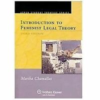 Introduction To Feminist Legal Theory, Third Edition: By Martha E. Chamallas