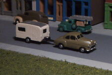 Old Car and Camper N Scale vehicle
