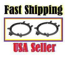 """1995 - Up GM Full Size Truck SUV 5-1/4"""" to 6-1/2"""" Front Speaker Adapter Brackets"""
