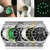 1* TEVISE Herren Wasserdicht Automatische Mechanische Edelstahl Sport Armbanduhr