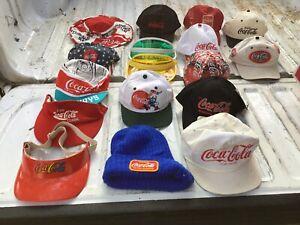 VTG Coca Cola Caps Trucker Hats Lot