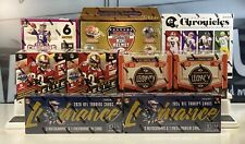 NEW ENGLAND PATRIOTS 2020 Football 10 Box Case Break Mixer Gold Standard-Elite