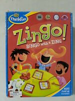 Zingo! Bingo with a Zing Game By Thinkfun COMPLETE Educational