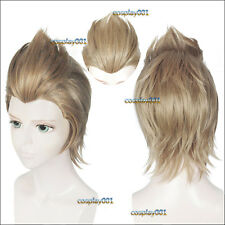 Final Fantasy XV FFXV FF15 Ignis Stupeo Scientia Wig Short Cosplay Costume Wig