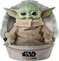 "Star Wars Mandalorian The Child 11"" Plush Baby Yoda Doll Mattel GWD85 IN STOCK"