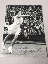 MARGARET OSBORNE († 2012) Wimbledon-Siegerin 1947 signed Foto 10 x 13,5 RARITÄT