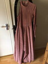 ASOS Blush Pink One Shoulder Dress- UK Size 10