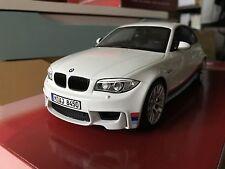 BMW 1M E82 Blanc Gt Spirit 1/18