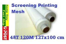 48t 120M Mesh for Silk Screen Printing Size: 127 x 100 cm AU local fast ship