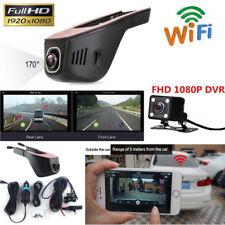 WiFi oculto 1080P FHD Doble Lente de cámara trasera de auto DVR Video Cámara