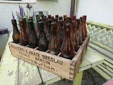 alter Brauerei Bierkasten Haase Breslau Ostgebiete Schlesien 30er Jahre