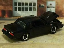 1987 87 Buick Regal GN Grand National 3.8 SFI Turbo 1/64 Scale Limited Edit B66