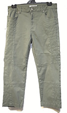TS pants TAKING SHAPE plus sz S / 16 Floralia Crop Pant stretch cotton chic NWT!