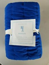 Pottery Barn Kids Branson Blue Gray Quilted Euro Sham #3164