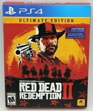 Red Dead Redemption 2 STEELBOOK Ultimate Edition Xbox One FÁBRICA SELLADA EL JUEGO