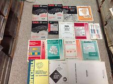 1987 FORD MUSTANG Service Shop Repair Workshop Manual Set FACTORY OEM 1987