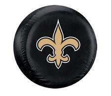 New Orleans Saints Fleur-de-lis Large Spare Tire Cover [NEW] NFL Car Nylon CDG