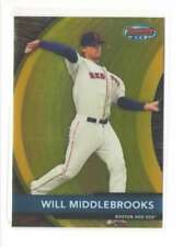 2012 Bowmans Best Prospects - BOSTON RED SOX BBP22 Will Middlebrooks